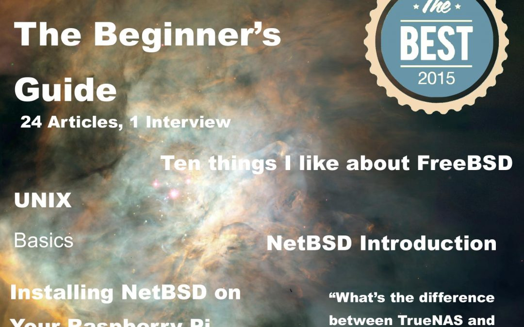 BSD Mag Best of 2015 – The Beginner's Guide