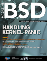New BSD Magazine (March 2013): Handling Kernel Panic