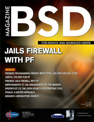 BSD Magazine (May 2013): Jails Firewall with PF