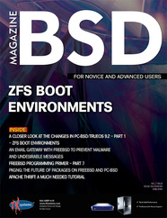 BSD Magazine (August 2013): ZFS Boot Environments