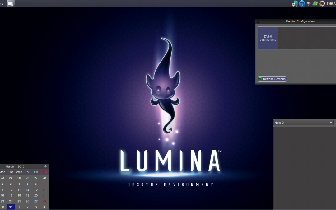 Basis Of The Lumina Desktop Environment by Ken Moore