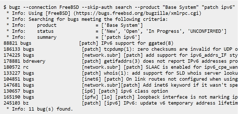 Command Line Bug Hunting in FreeBSD by adventurist