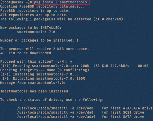 [How-To] Check hard drive health on FreeBSD