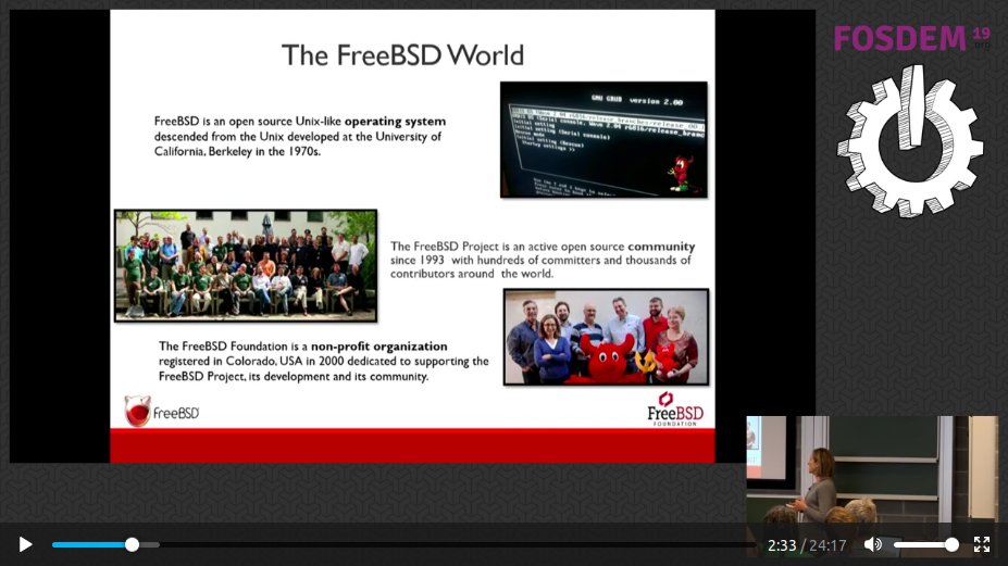 25 Years of FreeBSD @ FOSDEM 19