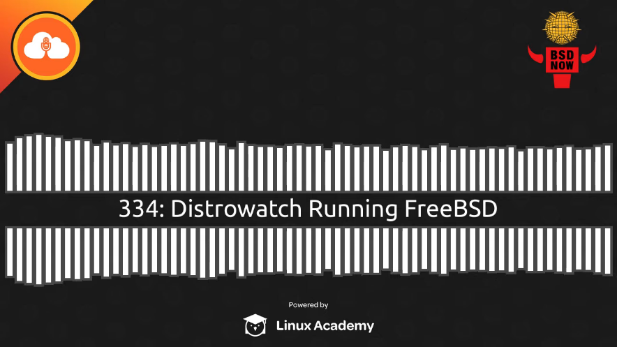 BSD Now Episode 334: Distrowatch Running FreeBSD