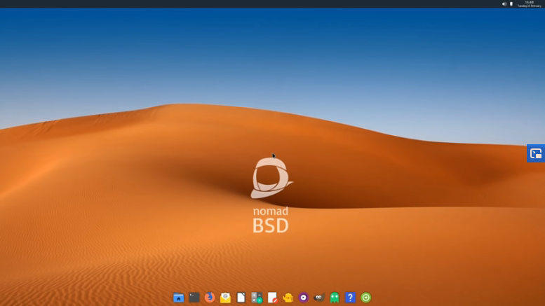 (Video) NomadBSD: Persistent Live USB OS by ExplainingComputers