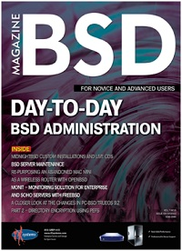 BSD Magazine (September 2013):  Day-to-Day BSD Administration