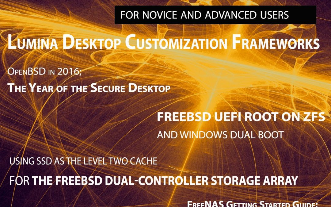 BSD Magazine – Lumina Desktop Customization Frameworks Vol. 10 No. 09