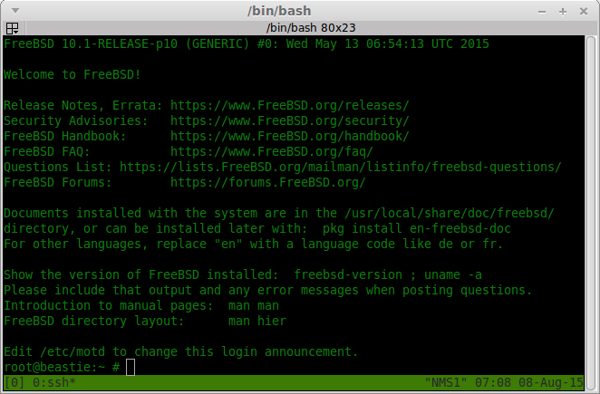 Exploring FreeBSD from a Linux user's perspective