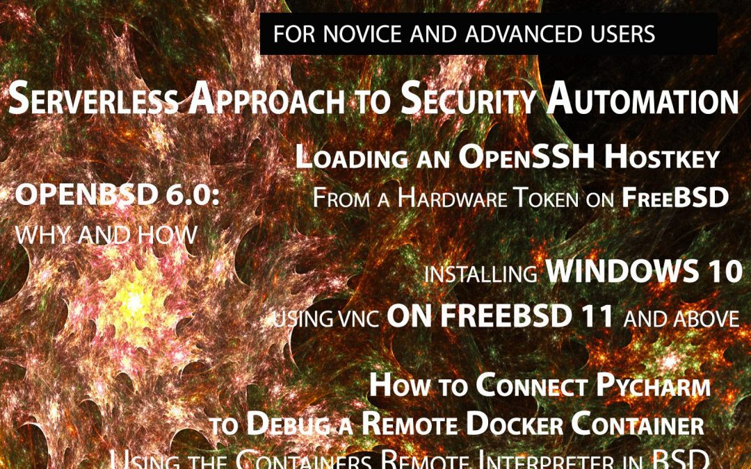BSD Magazine Vol 10 No. 10 – Serverless Approach to Security Automation