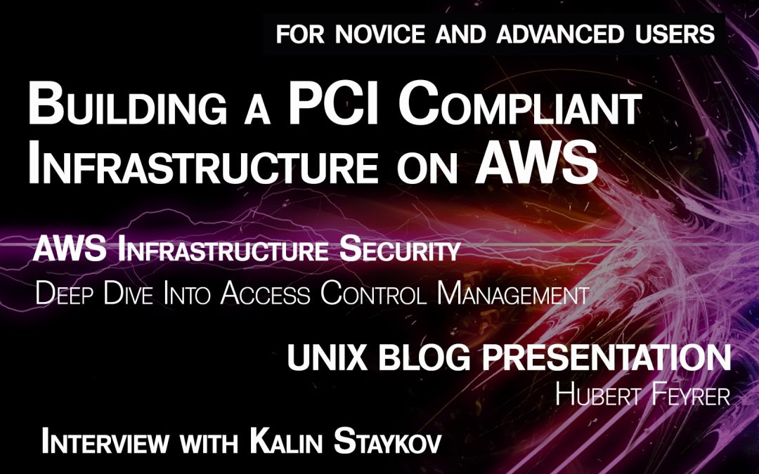 BSD Magazine: Building a PCI Compliant Infrastructure on AWS