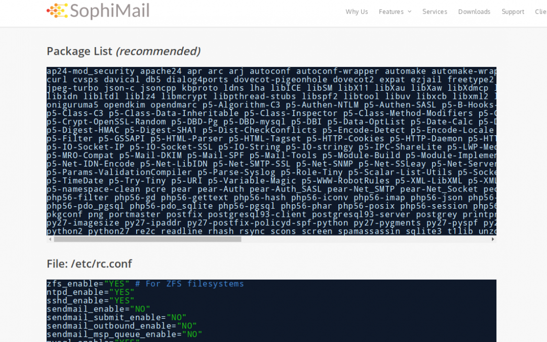 [How-To] Self-hosted mail server on FreeBSD for maximum data privacy