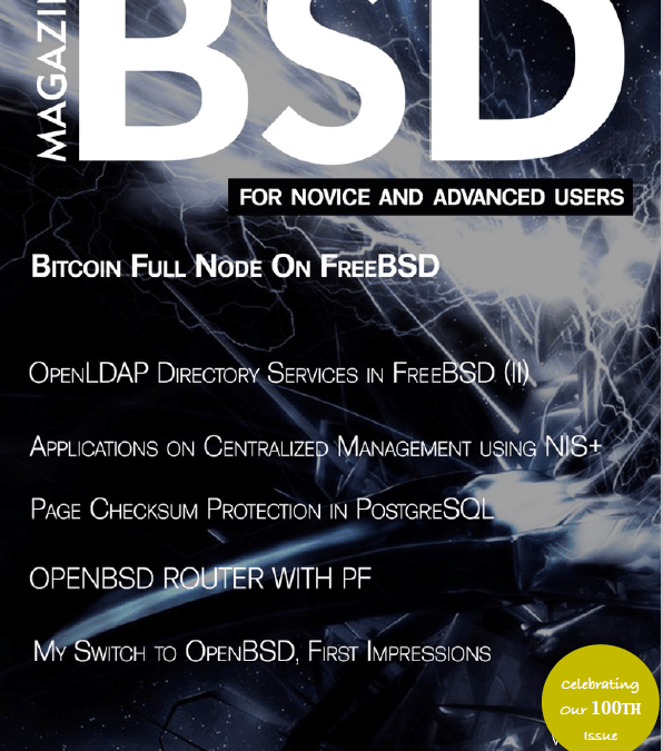 BSD Magazine's 100th Issue!