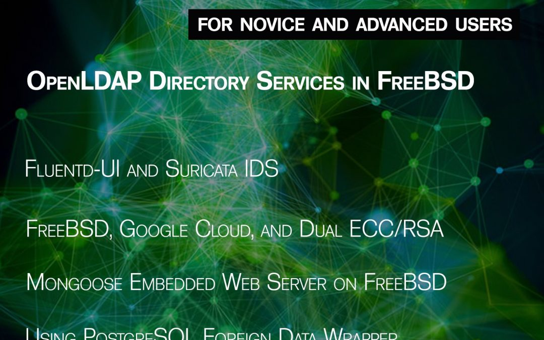 BSD Magazine Issue 11/2017 – OpenLDAP Directory Services in FreeBSD
