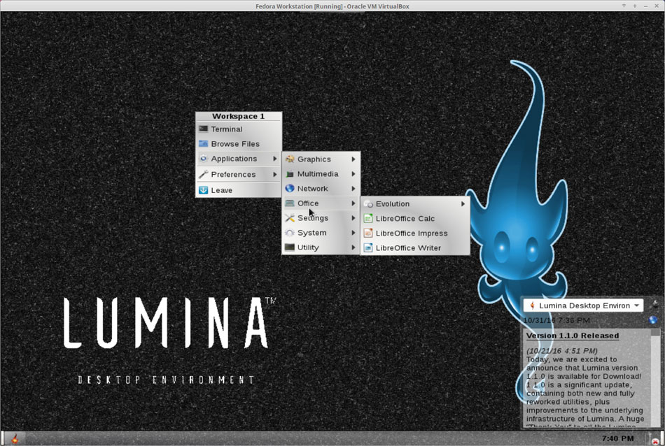 Lumina Adds Luster to Linux Desktop