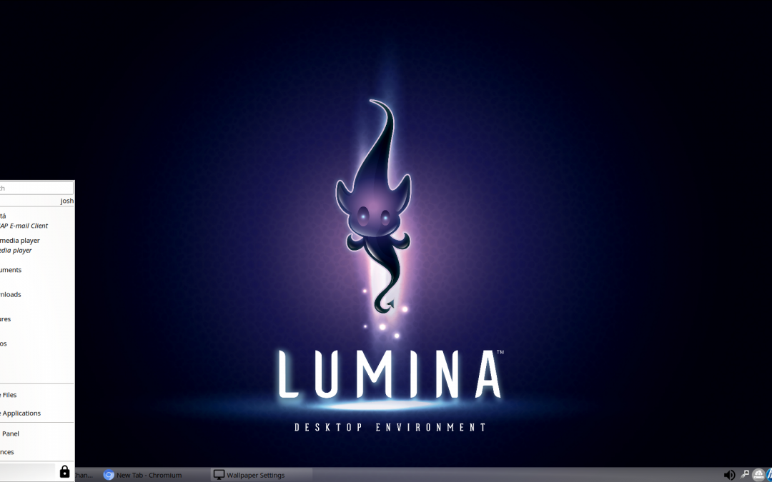 Looking at Lumina Desktop 2.0
