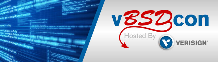 Verisign Announces vBSDcon 2015
